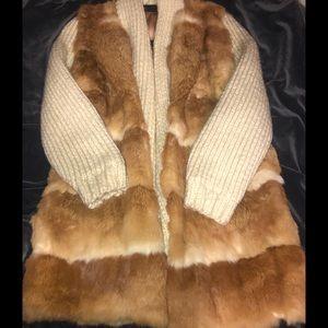 Long fur vest ✨